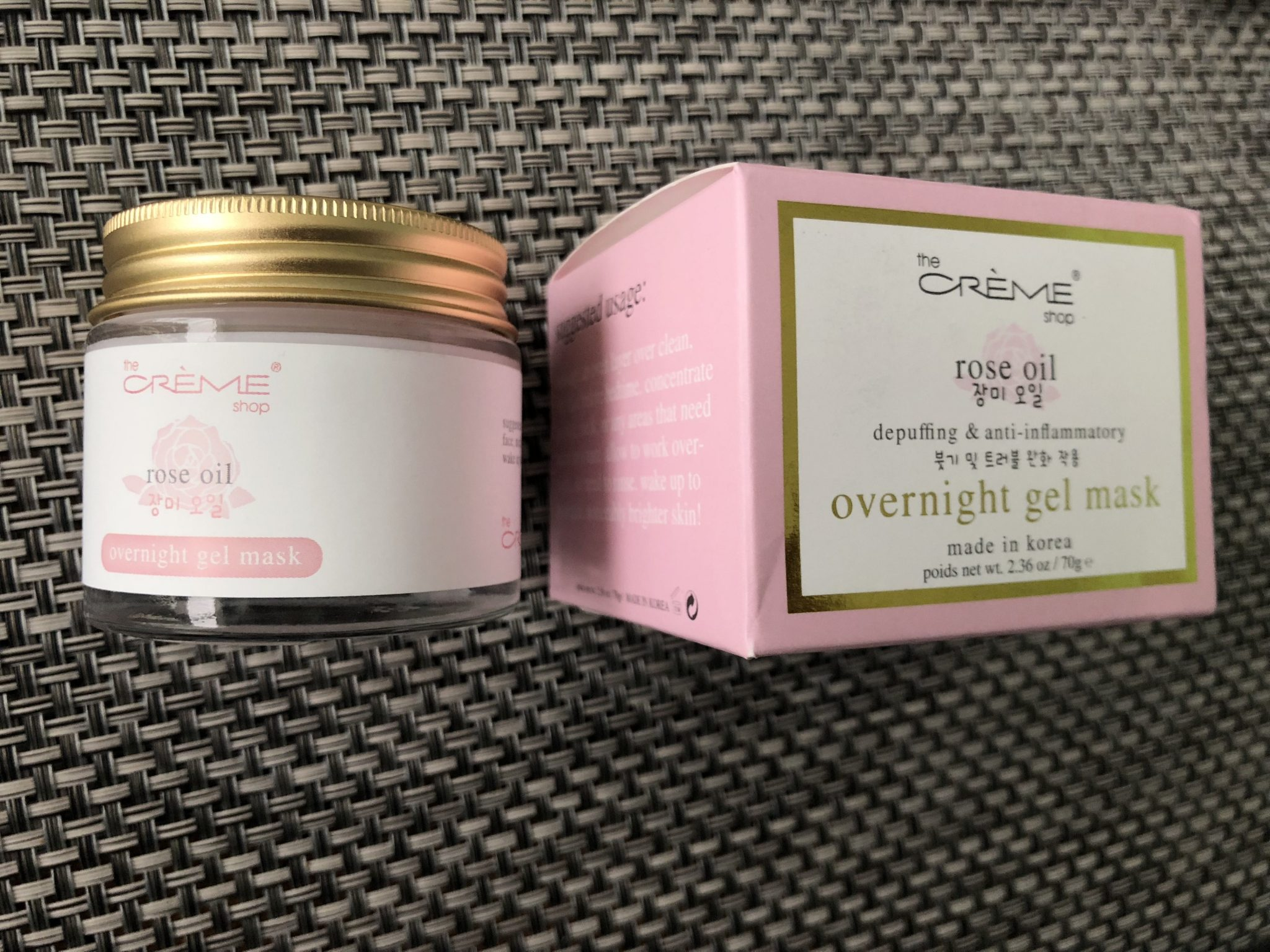 The Cream Shop Rose Oil Overnight Gel Mask - My personal