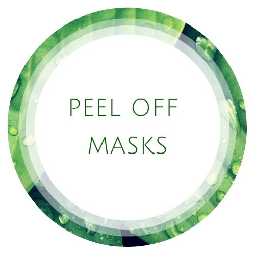 Peel off masks